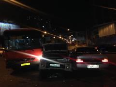 ДТП с участием трех машин и одного автобуса произошло во Владивостоке