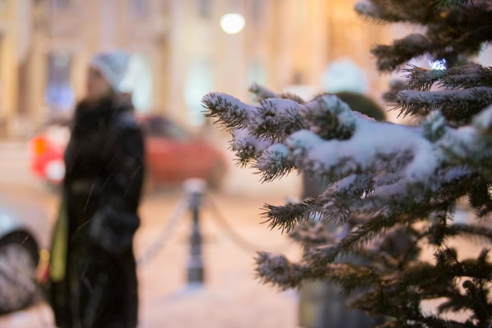 Снег распространится на большую часть Приморского края