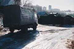 Ледяная ловушка образовалась в одном из районов Владивостока