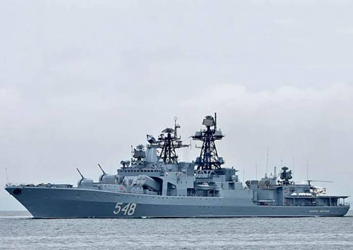 Во Владивосток вернулся большой противолодочный корабль «Адмирал Пантелеев»