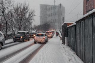 В воскресенье Приморье накроет очередной снегопад