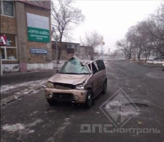 Погоня сотрудников ДПС во Владивостоке закончилась аварией