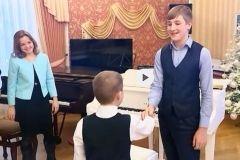 Школьник из Приморья взял телеинтервью у сына президента Беларуси