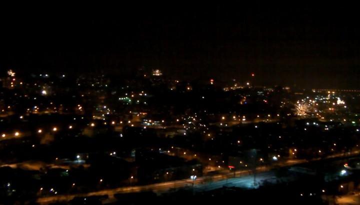 Запущенный рядом сЛЭП фейерверк вНовый год обесточил часть Владивостока