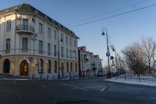 Фото: Татьяна Меель / PRIMPRESS | Город пустых: как улицы Владивостока выглядели в первый день 2020 года