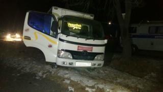 В Приморье водитель грузовика поплатился, оставив его заведенным