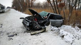 Серьезная авария произошла в Приморье