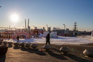 Фото: PRIMPRESS | «Это кешбэк»: кадры инцидента в центре Владивостока набрали 97 тыс. просмотров