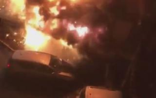 Владивостокца назвали везунчиком после вчерашнего пожара на Гайдамаке