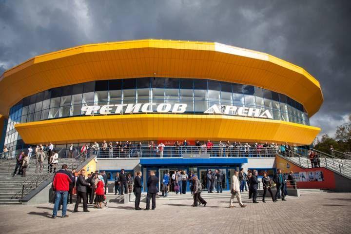 Вовремя матча в«Фетисов-Арене» случился пожар