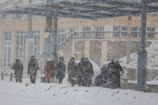 Фото: Татьяна Меель / PRIMPRESS | На этих выходных на Приморье обрушится снегопад