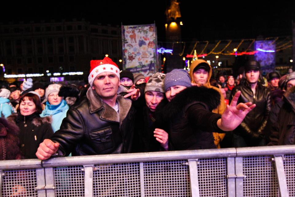 Кризис праздникам не помеха
