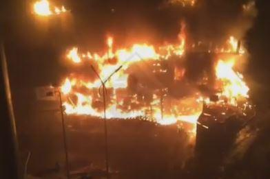 Во Владивостоке задержали мужчину, который поджег здание в районе остановки «Гайдамак»
