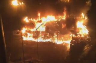 Возбуждено уголовное дело по факту поджога ТЦ во Владивостоке