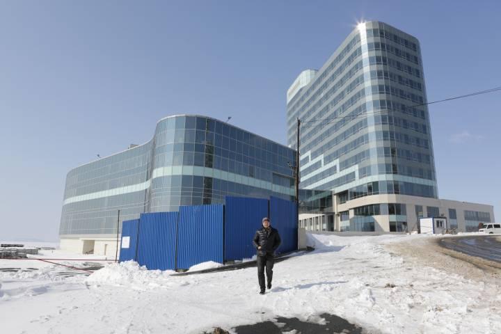 Недостроенный отель Hyatt воВладивостоке сняли спродажи