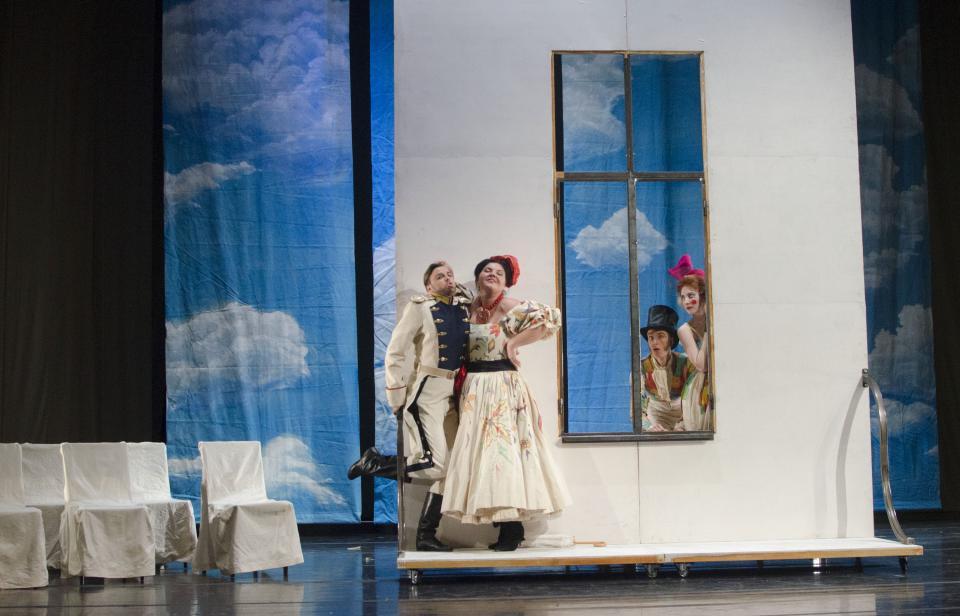 «Другой Пушкин»: как на Приморской сцене Мариинского театра проходит подготовка к опере «Мавра»