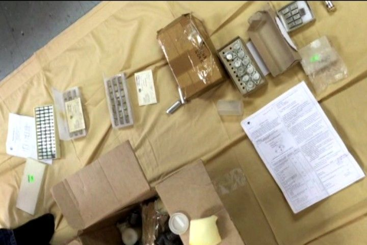 Награнице РФ иКитая задержали багаж своенной начинкой