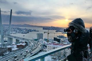 Бесплатный Владивосток: забег по льду, чай с психологом и Лизун-шоу