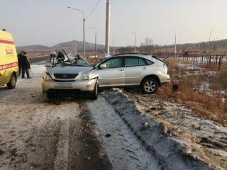 Фото: МВД | «Лексус» попал в ДТП со смертельным исходом в Уссурийске