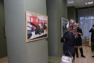 Фото: Екатерина Дымова / PRIMPRESS   Во Владивостоке проходят мероприятия в рамках выставки «Соцреализм. Большая стройка»