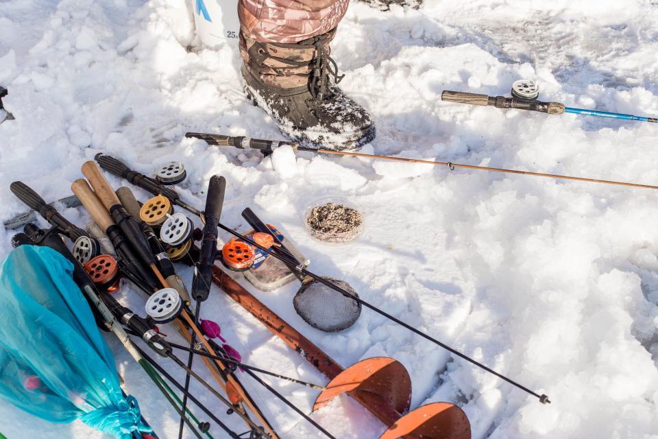«Зимняя рыбалка – это преодоление самого себя»