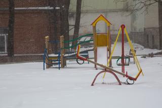Фото: Татьяна Меель / PRIMPRESS   Снег во Владивостоке будет идти еще сутки
