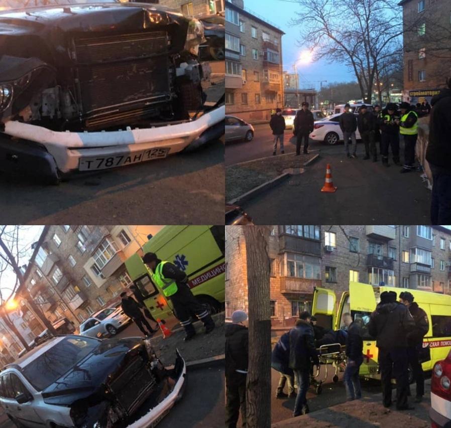 Стало известно о состоянии пострадавшей в ДТП во Владивостоке семьи