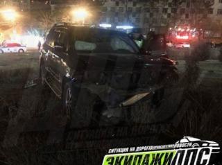 «Защитник Отечества» за рулем дорогого автомобиля устроил массовое ДТП во Владивостоке
