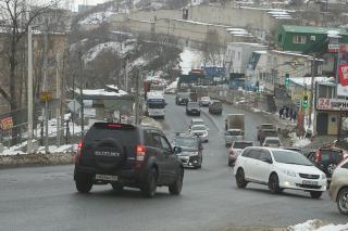 Фото: PRIMPRESS   Очевидцы сообщили, где во Владивостоке стреляют по автомобилям