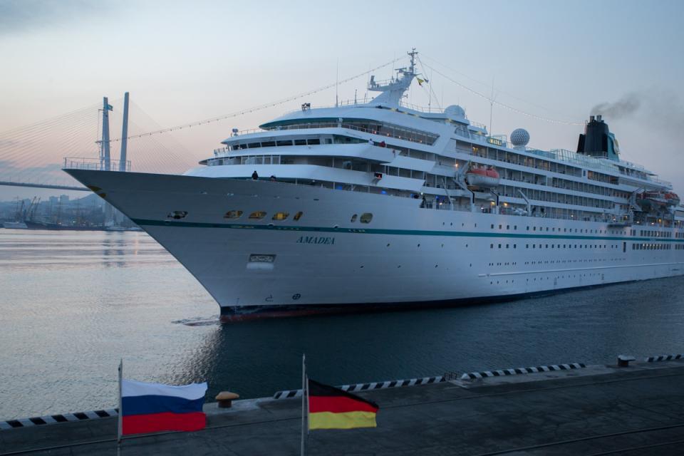 Первый в этом году круизный лайнер прибыл в Приморье