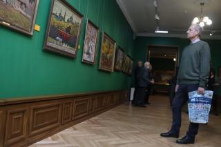 Фото: Екатерина Дымова / PRIMPRESS | «Российский пейзаж Александра Ткаченко» можно увидеть в Приморской государственной картинной галерее