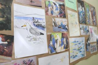Фото: Екатерина Дымова / PRIMPRESS   Жителей Владивостока в залах «Артэтажа» ждет «Ручная чайка»