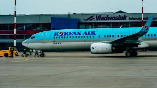Фото: PRIMPRESS   В Korean Air пока не могут сказать, как пассажиры будут добираться до места назначения после отмены полетов