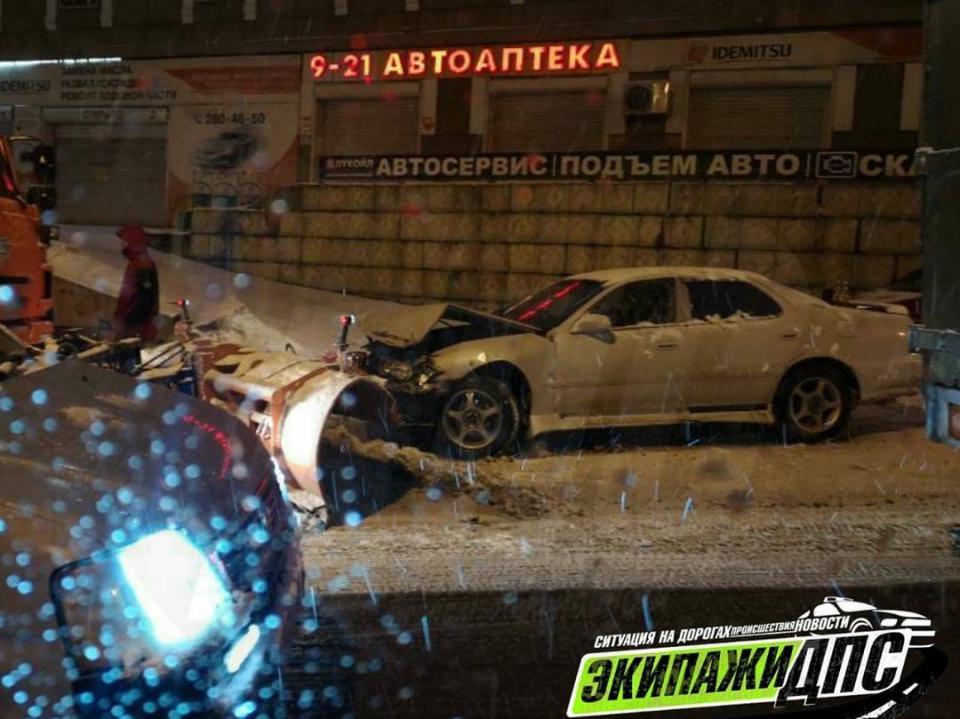 Многочисленные жертвы снегопада во Владивостоке попали на видео