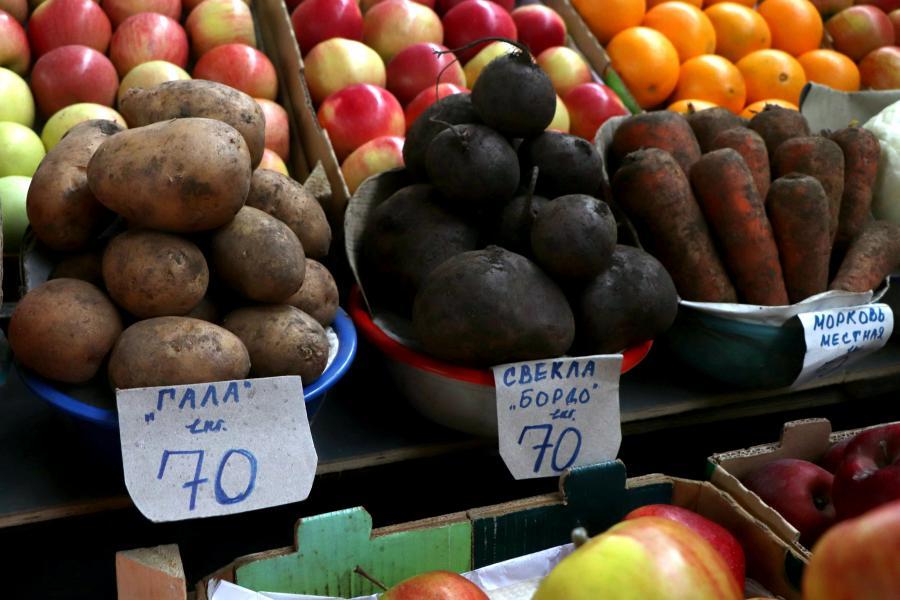 Индекс борщевого набора по рынкам Владивостока: где овощи дешевле?
