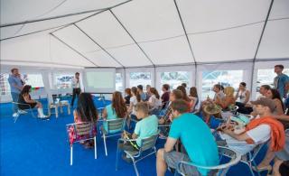 Фото: ИА PrimaMedia | Лекторий в дни работы Vladivostok Boat Show – 2020