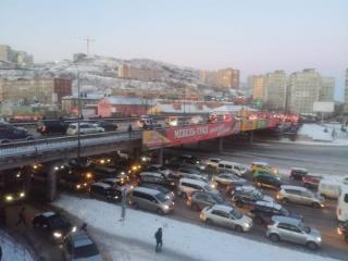 Фото: PRIMPRESS   «Это не закончится»: жители Владивостока негодуют из-за многочасовых пробок