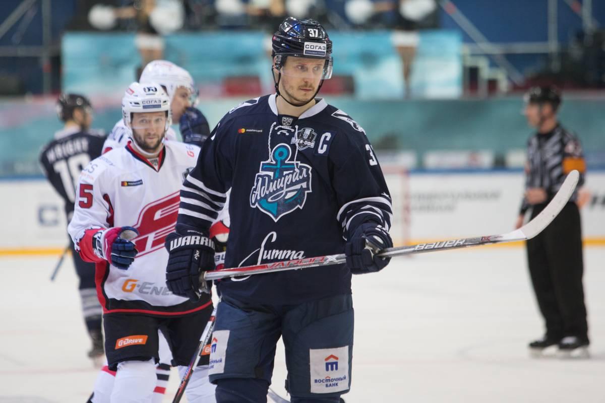 Приморский «Адмирал» вылетел из плей-офф Кубка Гагарина