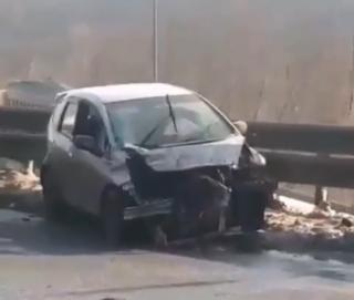 Фото: скриншот dpscontrol_125rus | Жесткое ДТП произошло на объездной трассе во Владивостоке