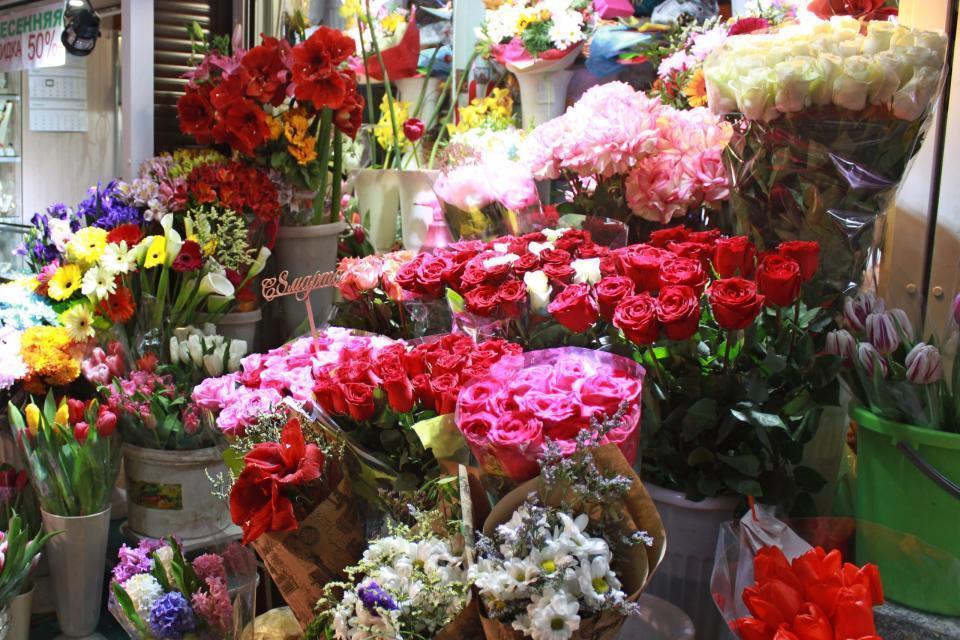 Хабаровске купить цветы ночью