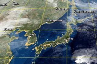 Фото: Гидрометцентр РФ   Желтый уровень опасности объявлен в Приморье