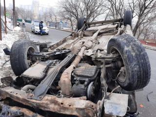 Фото: 25.мвд.рф   Автолюбителей и пешеходов предупреждают об опасности в Приморье