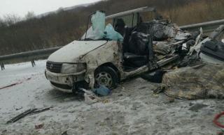 В аварии с участием пассажирского автобуса на трассе Уссурийск – Владивосток погиб человек