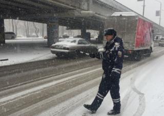 Более 40 ДТП зафиксировано во Владивостоке в первой половине дня