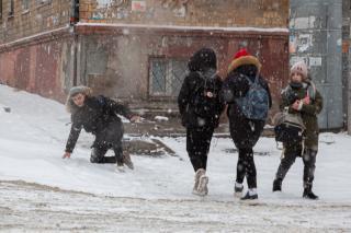 Фото: Татьяна Меель / PRIMPRESS   Борис Кубай рассказал, когда Приморью ждать очередной снегопад