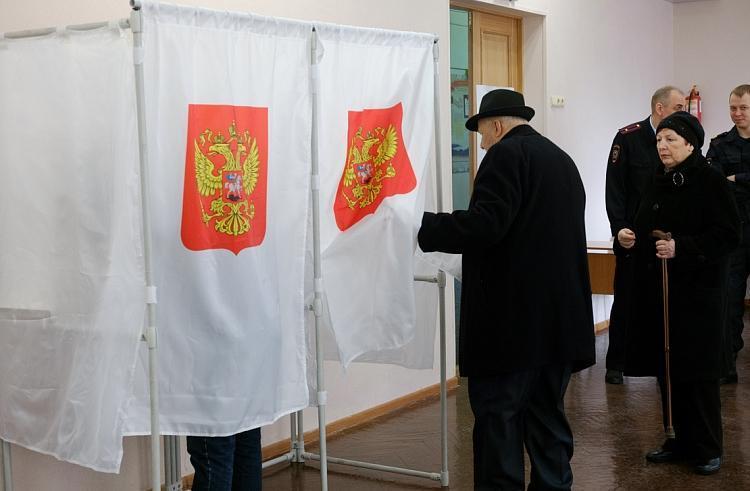 Обнародованы предварительные итоги  выборов президента России в Приморье