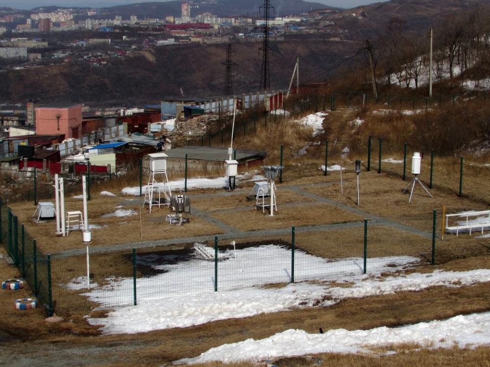 «Данные о погоде во Владивостоке поступают каждую минуту»