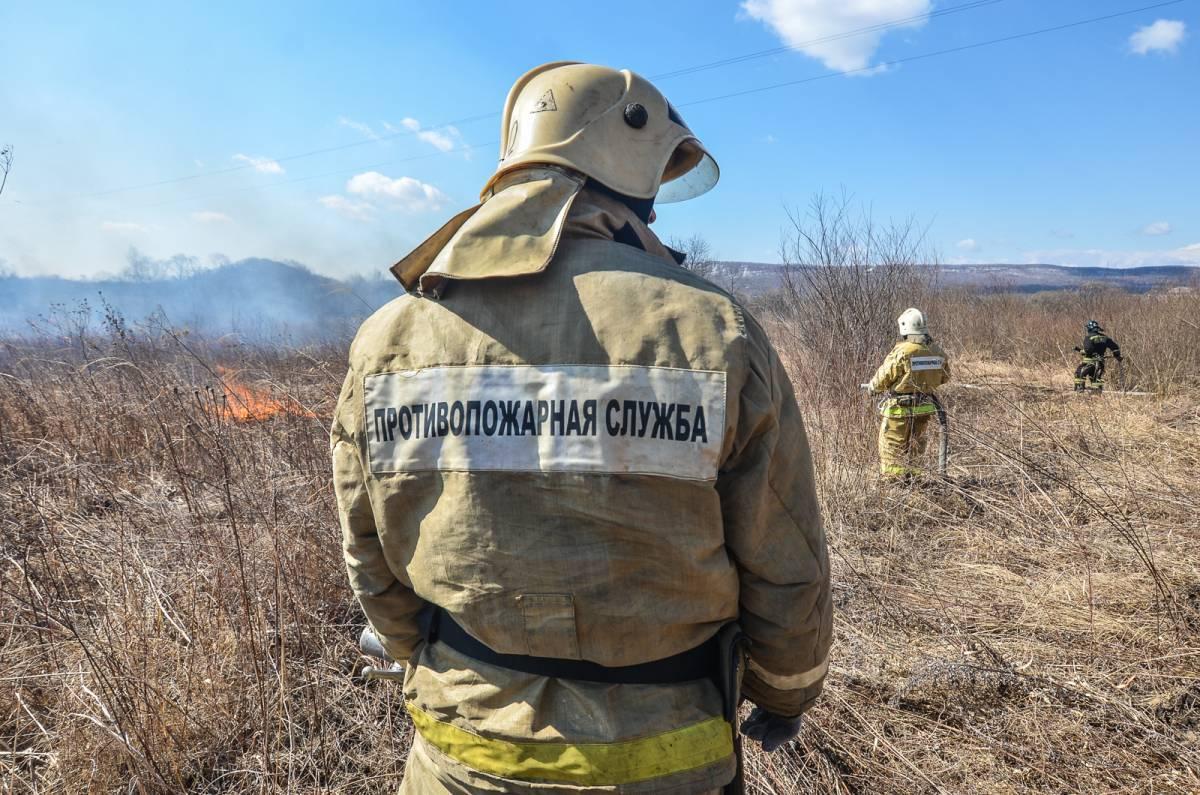 Приморские спасатели отработали тактику тушения природных пожаров