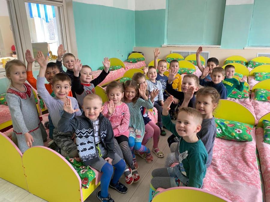 Новая мебель появилась в детских садах Врангеля благодаря помощи Восточного Порта