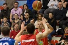 Во втором четвертьфинальном матче «Спартак-Приморье» проиграл БК «Самара»
